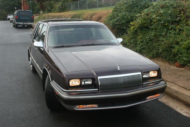 1992 Chrysler New Yorker Fuse Box Diagram