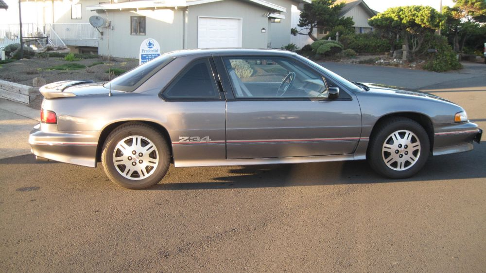 medium resolution of 1993 chevrolet lumina z34 coupe 2 door 3 4l engine with 48 700 actual miles