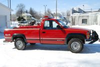 Chevy pickup with water tank, pump and hose ( Ex grass ...