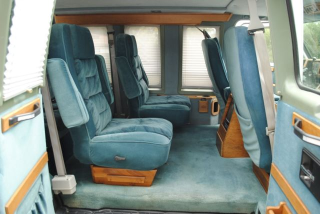 Home Wiring White Color Mark Iii Chevy Conversion Van G20 Short Wheelbase For Sale