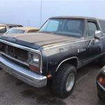 1987 Dodge Ramcharger For Sale In Cadillac Mi Classiccarsbay Com