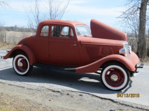 1933 Ford 5W coupe project car 1932 1940 1934 Hot Rod