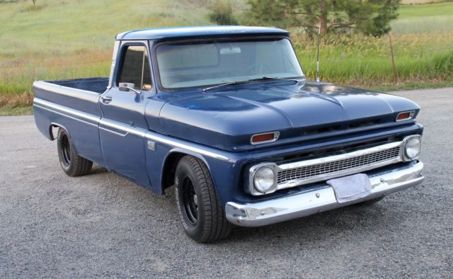 64 Chevy C10 Wiring Diagram 65 Truck 1966 Chevrolet C10 Long Bed