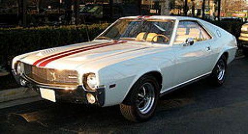 1968 AMC AMX 390