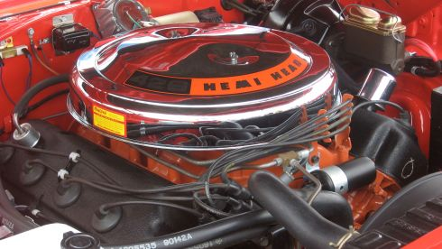 426 Hemi Big Block Engine