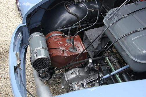 1955 Lloyd LP 400 Zweizylinder-Zweitaktmotor