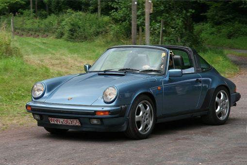 1985 Porsche 911 Carerra Targa