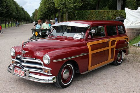 1950 Plymouth Woody Suburban