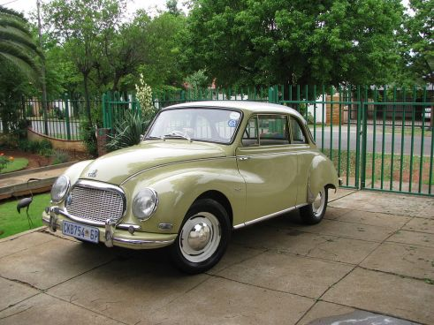 1957 DKW F93: When Mercedes and Audi Worked Together