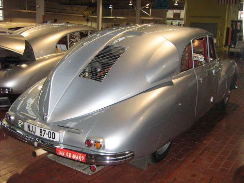 Rear View of the 1947 Tatra T87