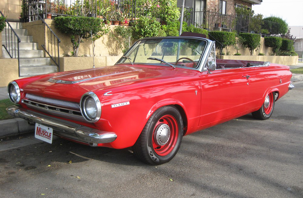1964 Dodge Dart Gt Convertible  Classic Cars Today Online