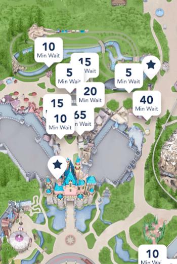 handy app for Disneyland