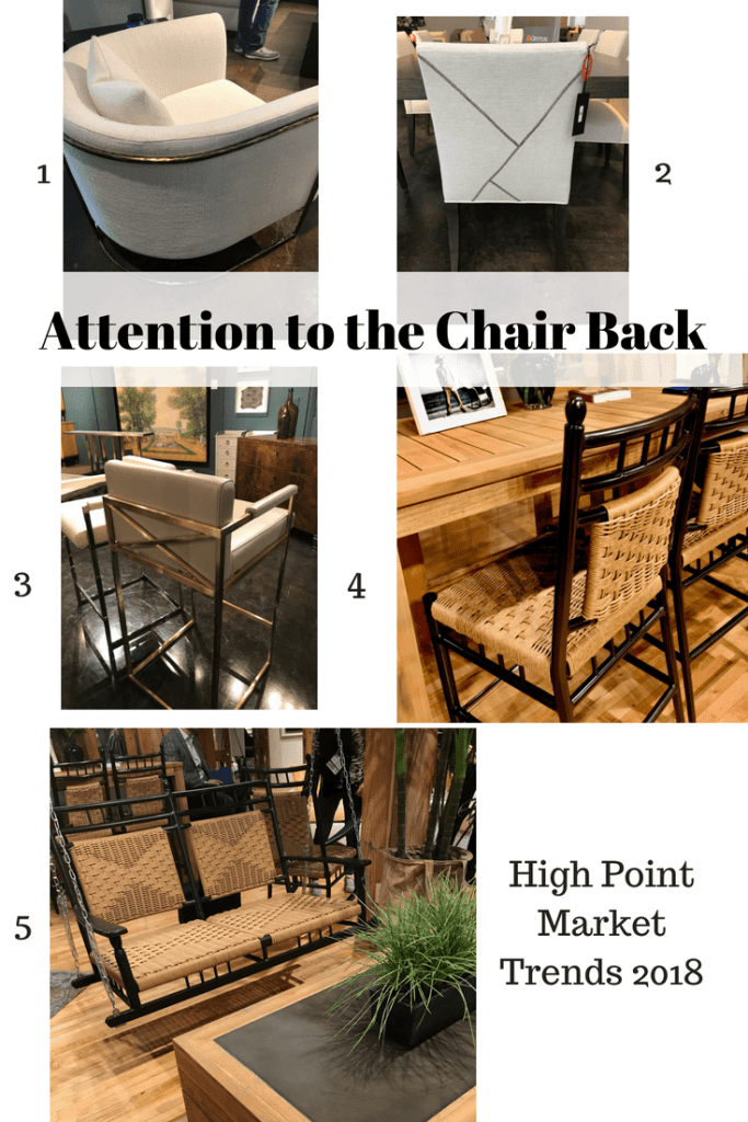 High Point Market Spring 2018 Trends Chair Backs