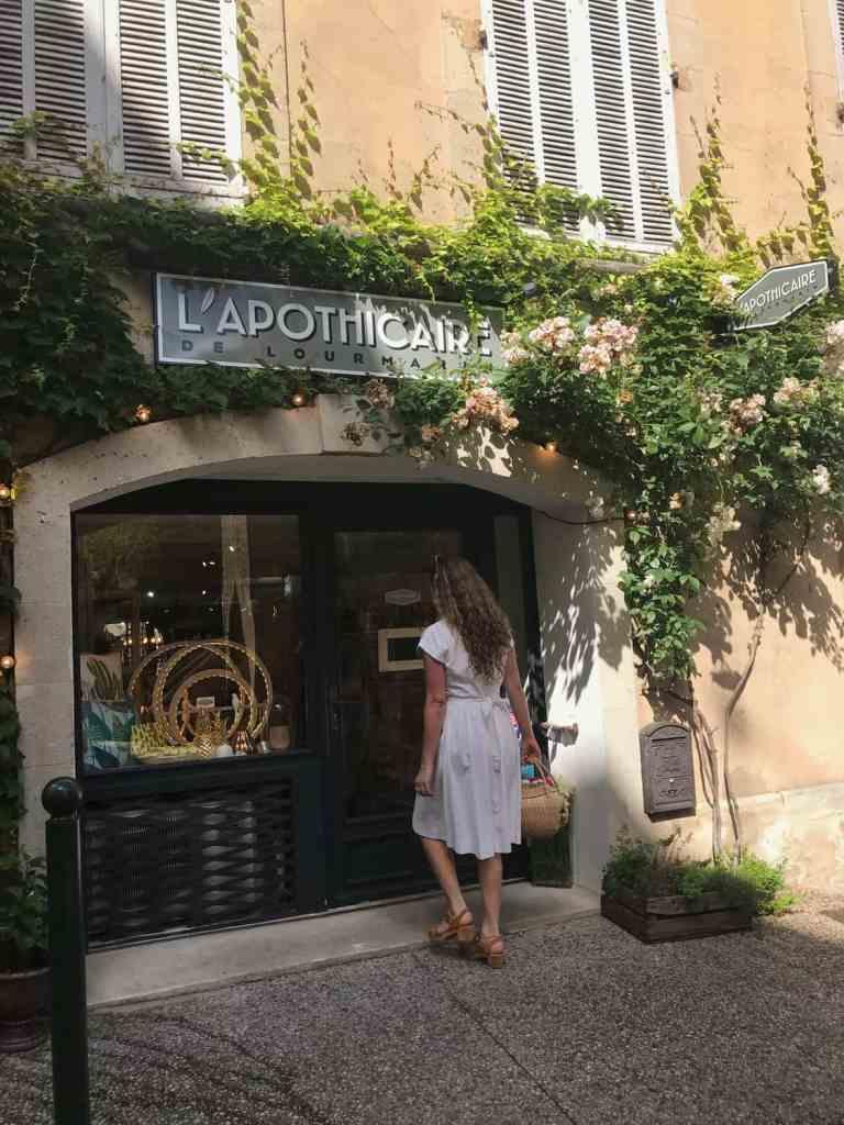 Lourmarin shop Provence