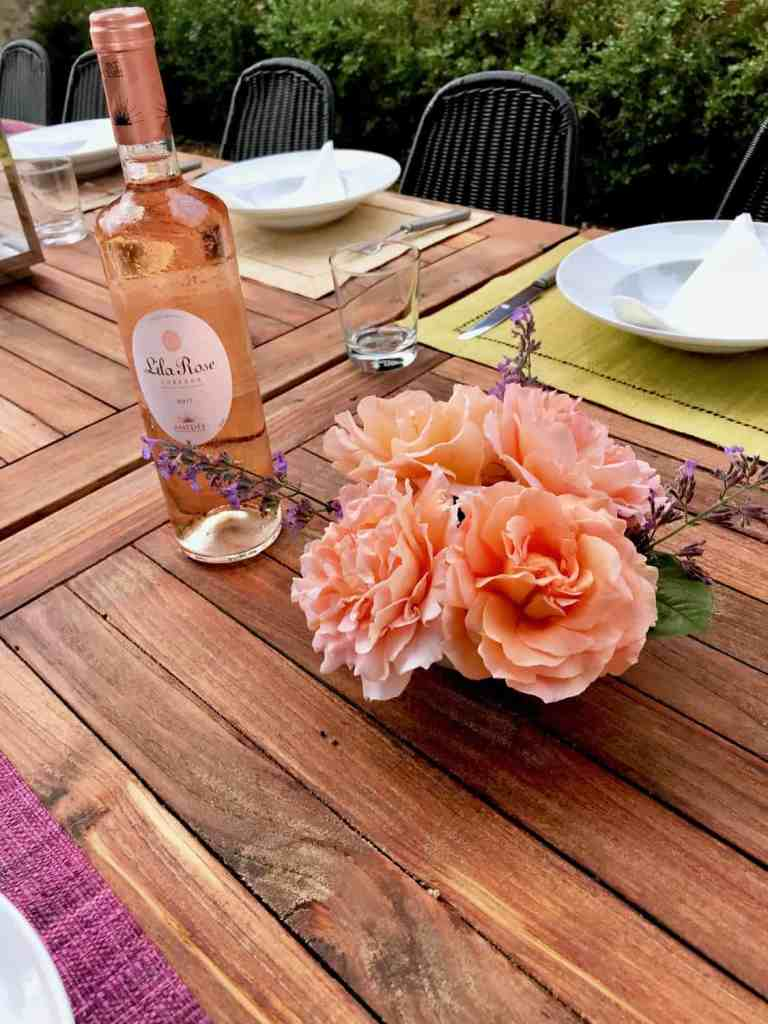 Garden Roses and rosé in Provence