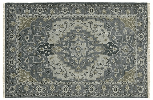 Persian style blue rug