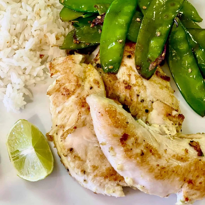Mary Ann Pickett's Easy Lime Ginger Chicken