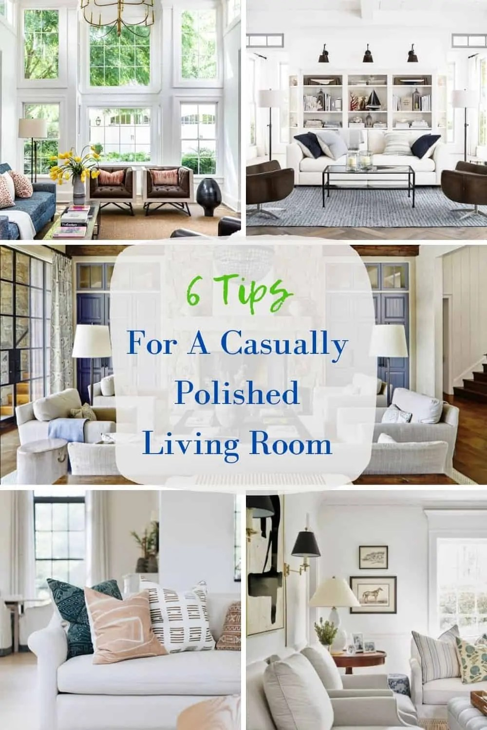 Mary Ann Pickett's tips for a polished living room