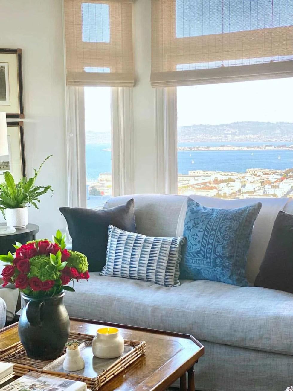 Designer Mary Ann Pickett's San Francisco Living Room