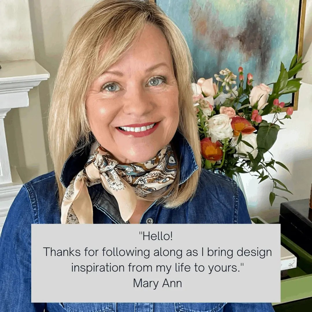 Design Blogger Mary Ann Pickett
