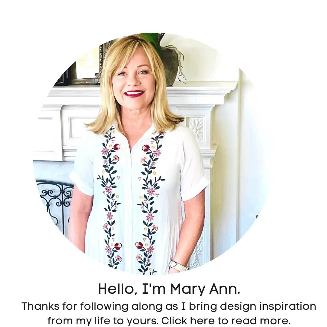 Design Blogger Mary Ann Pickett