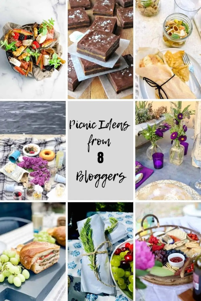 Eight Bloggers Picnic Ideas