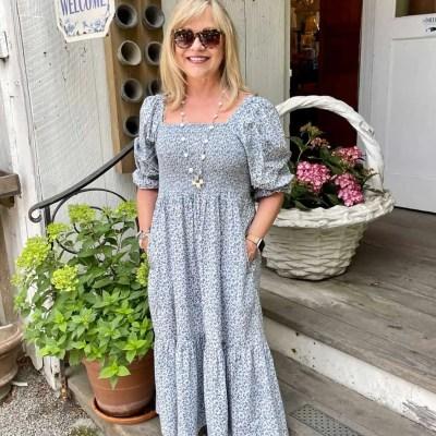 Smocked Tiered Summer Dress