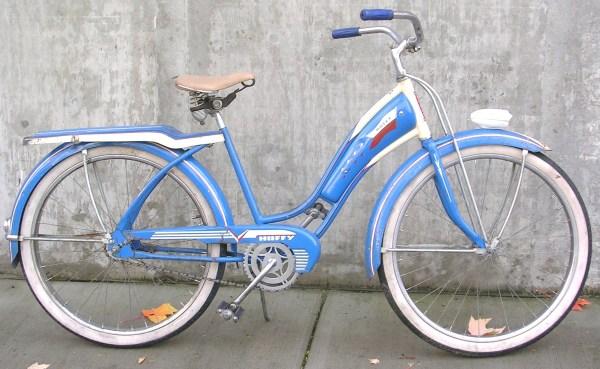 1953 Vintage Huffy Bicycle