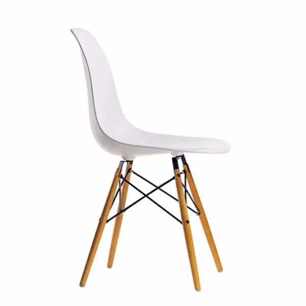 charles and ray eames also succumbed to their charms and in 1945 designed a Dsw Side Chair By Charles Ray Eames Vitra