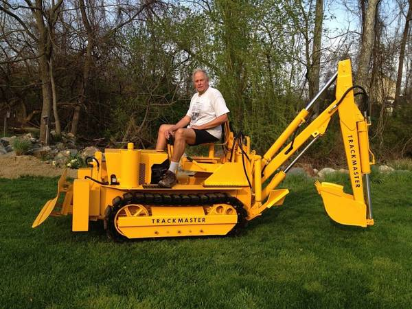 Mini Dozer with Backhoe for Sale