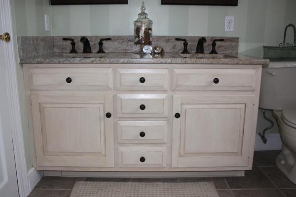 Distressed Bathroom Vanity