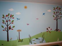 Children's Wall Mural - Classic Fauxs & Finishes