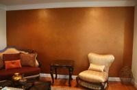 Metallic Multi-Colored Accent Wall | Classic Fauxs & Finishes