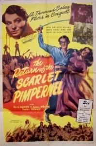 1937 return of the scarlet pimpernel