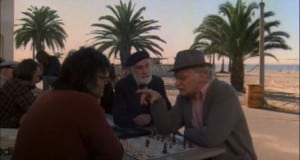 harry and tonto 1974 art carney chess board