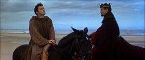 1964 Becket Richard Burton and Peter O'Toole horseback