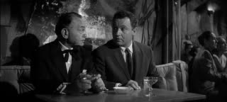 1960 Seven Thieves Edward G. Robinson and Rod Steiger 3