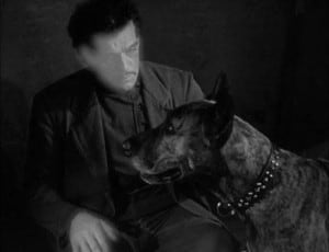 The Invisible Ray 1936 Boris Karloff and the dog
