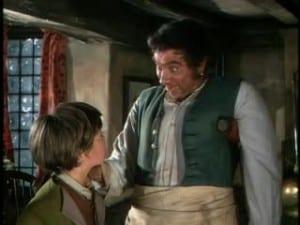 1950 Treasure Island Robert Newton and Bobby Driscoll 4
