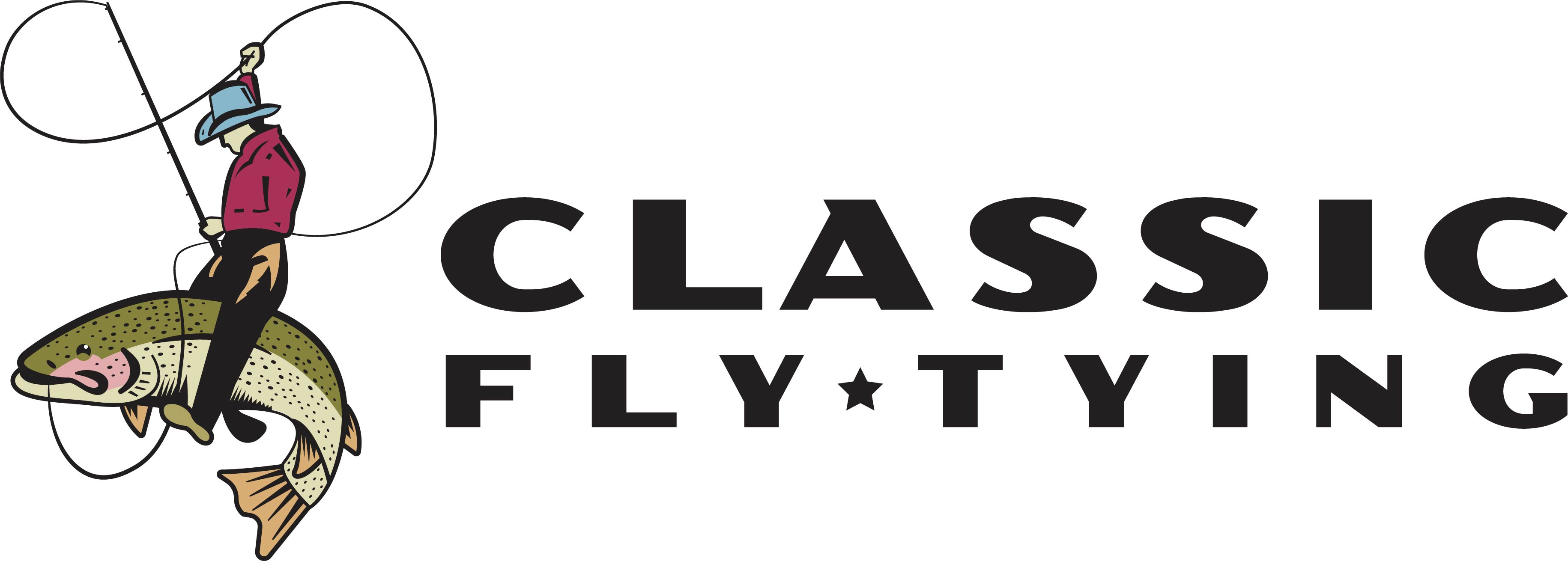 Classic Fly Tying Color Logo