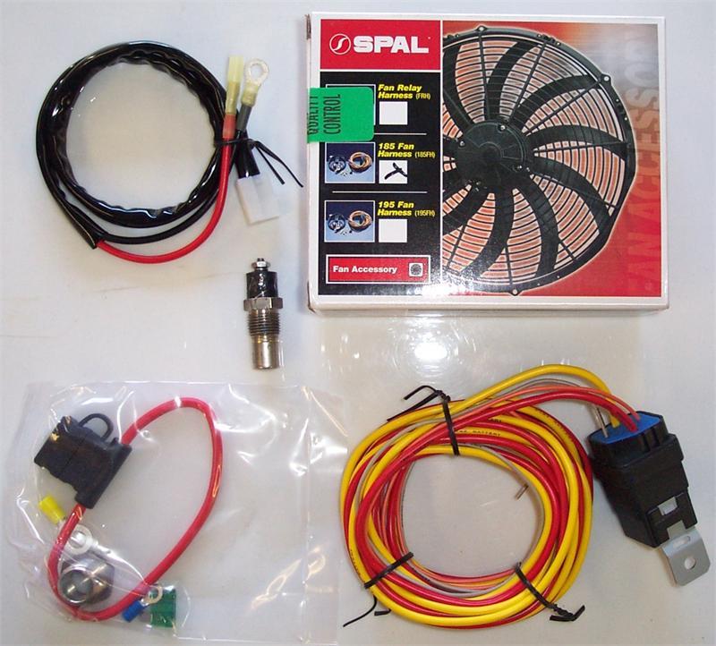 Spal Fan Wiring