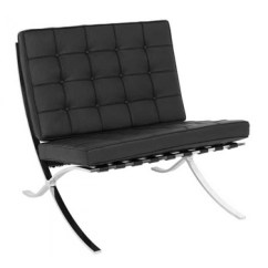 Barcelona Chair Style Couch High Chairs That Attach To Table