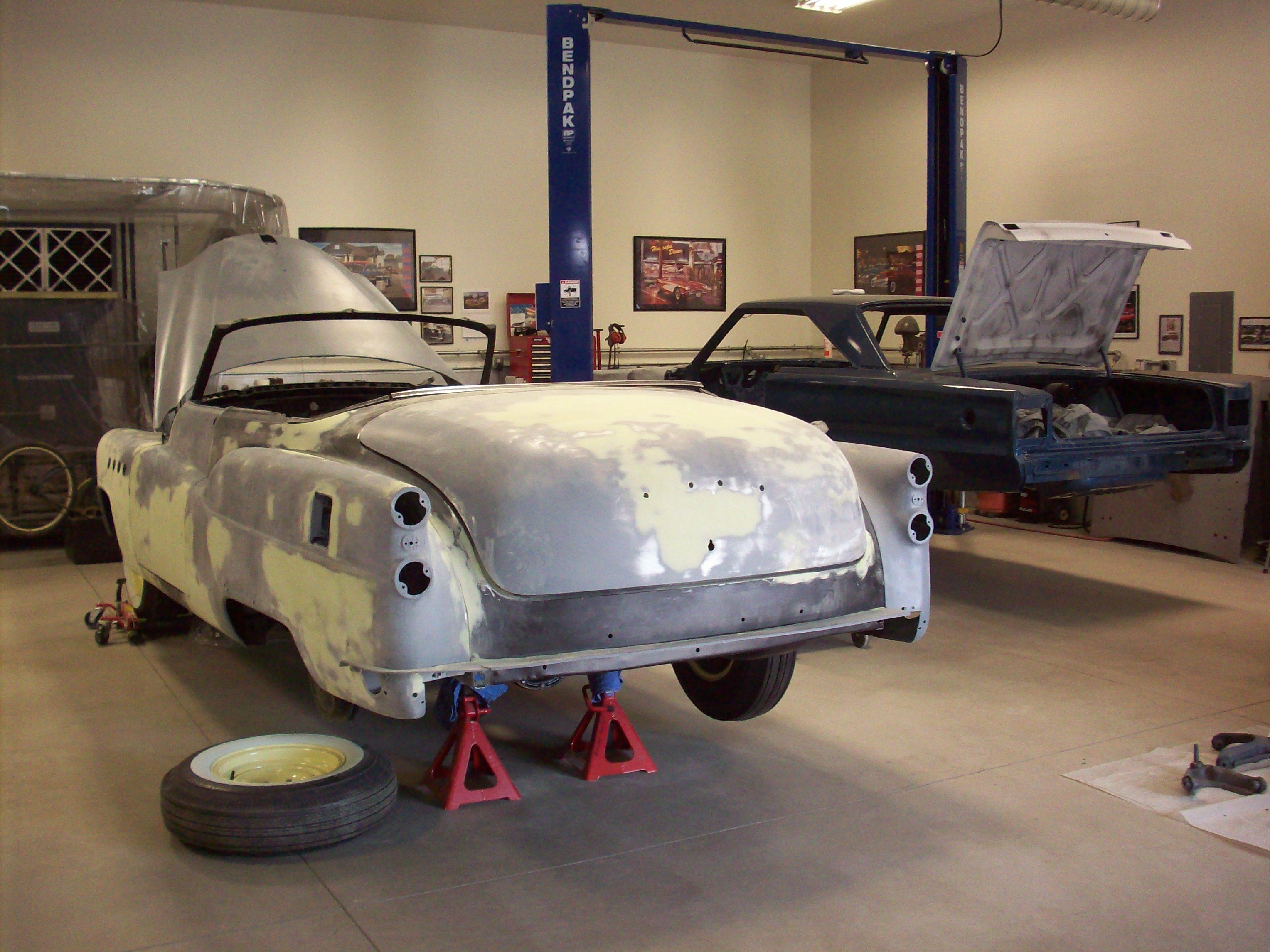 1953 Buick Roadmaster Convertiblerestoration  Classic Garage