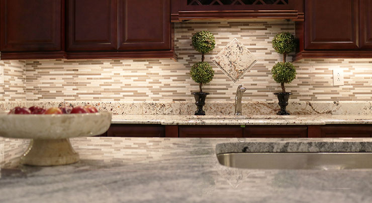 classic granite kitchen countertops