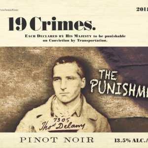 19 Crimes 2018 Punishment Pinot Noir - Red Wine