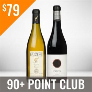 90+ Point Wine Club Twelve Shipment Membership