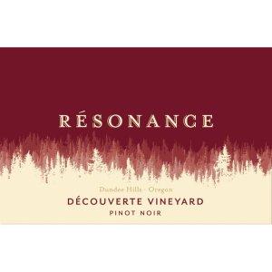 Resonance 2014 Decouverte Vineyard Pinot Noir - Red Wine