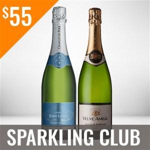Sparkling Wine Club Three Shipment Membership