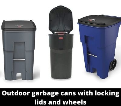 Which Is The Best Outdoor Garbage Cans With Locking Lids And Wheels 1