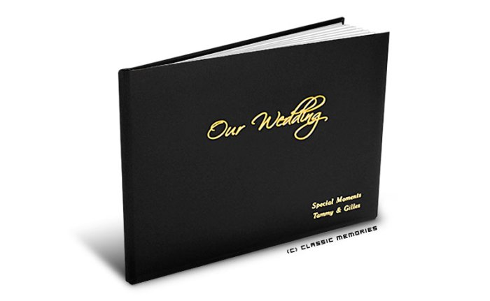 Classic Memories Leather Photo Book